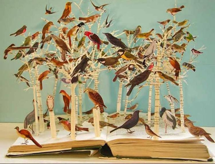 SuBlackwell_Book_Sculpture