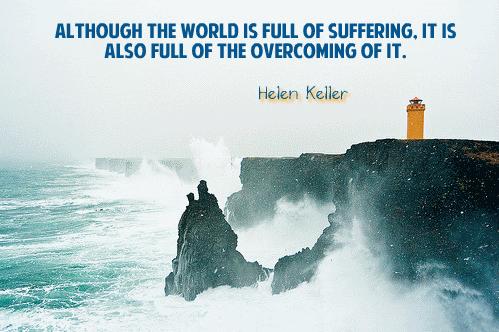Inspiration from Helen Keller