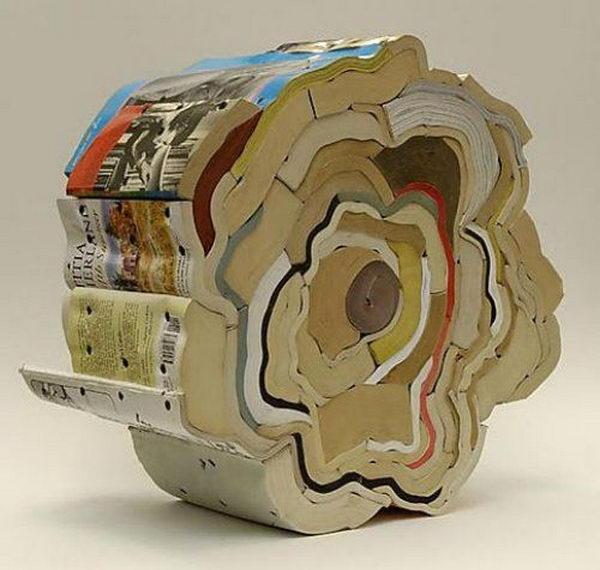 Book Sculptures by Jonathan Callan