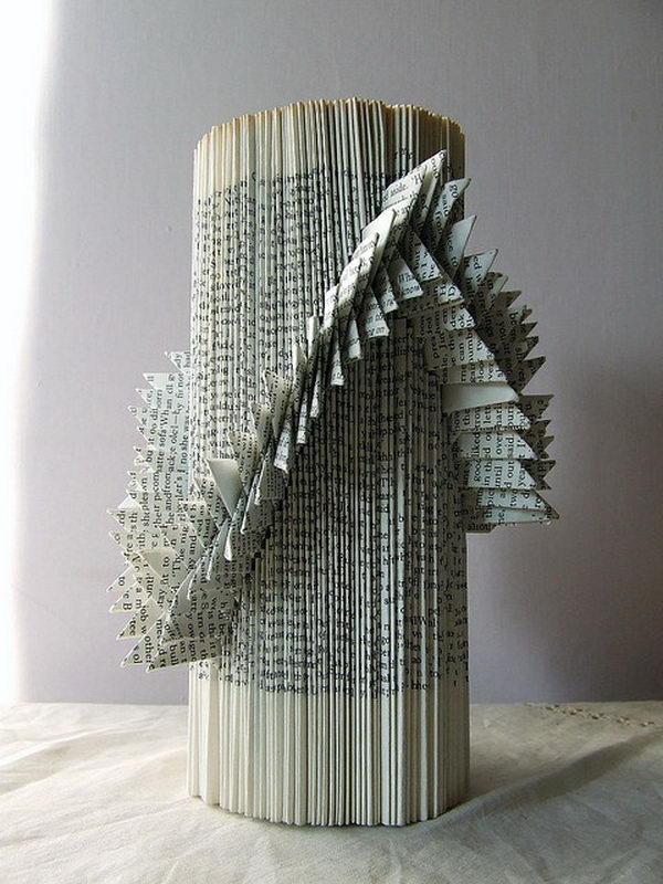 Book Sculptures by liz hamman