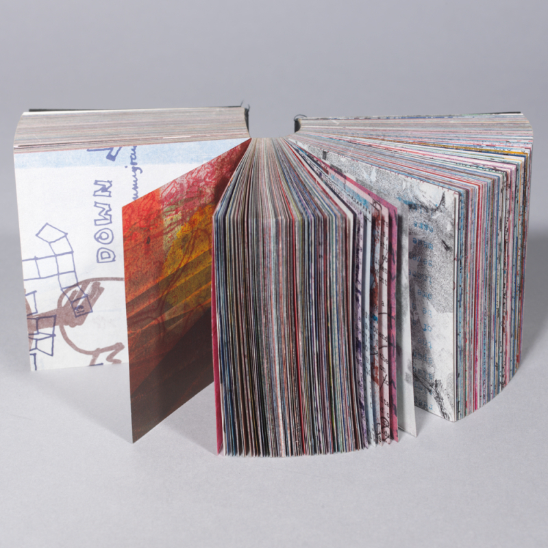 Little Tentative Recipe book art by Dieter Roth