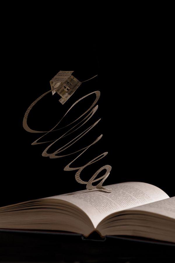 Book Sculpture by Julya Hajnoczky